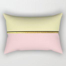 The Minimalist: Pastels Rectangular Pillow