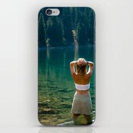 Le Lady Lake iPhone Skin