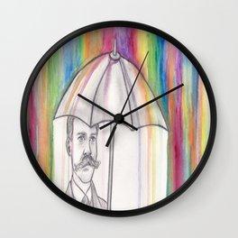 "NYTI ""NOTED"" Wall Clock"