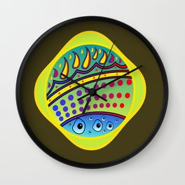 Heavenly Perspective Wall Clock