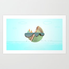 Little Land  Art Print