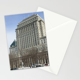 Crispy Montreal Morning 88 Stationery Cards