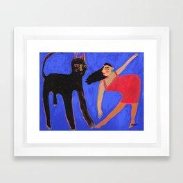 Encounters Framed Art Print