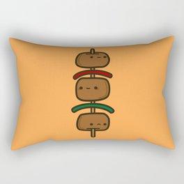 tasty kebab Rectangular Pillow