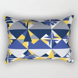 Geometric Winter Rectangular Pillow