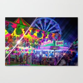 Fun Fun and Funnel Cakes at the carnival Canvas Print