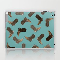 Cowboy Boots - pattern Laptop & iPad Skin