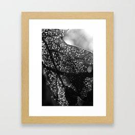 Breaking Fragments Framed Art Print