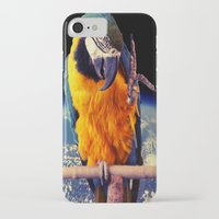 parrot iPhone & iPod Cases featuring Parrot by Cs025