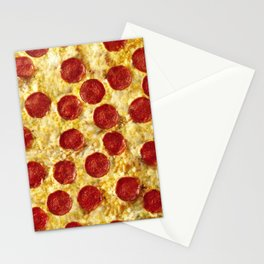 Who Wants Pizza? Stationery Cards