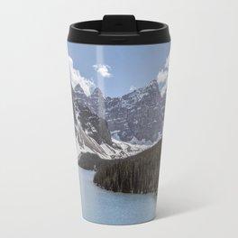 Landscape Photography Lake Moraine Mountain ridge Travel Mug