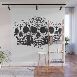 Skull heads Wall Mural