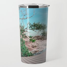 Beach Walkway Travel Mug