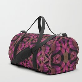 Floral Geometric Abstract G309 Duffle Bag