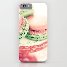 Peppermint Macarons iPhone 6s Slim Case