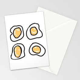 Gettin' Eggy Wit It Stationery Cards