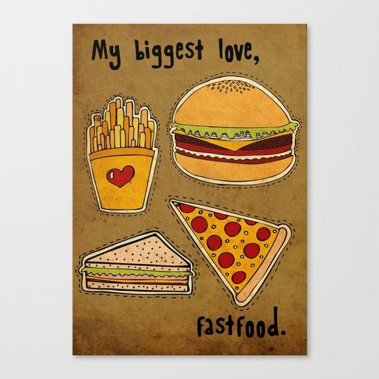My Biggest Love Canvas Print
