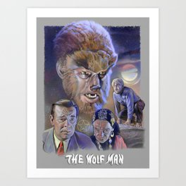 The Wolf Man (1941) Art Print
