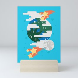 Going Up Mini Art Print