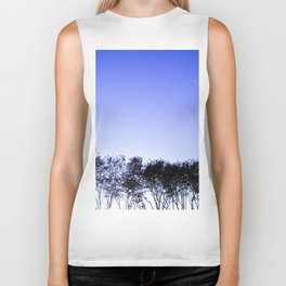 Because the sky is blue Biker Tank