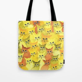 Yellowstone Whimsical Cats Tote Bag