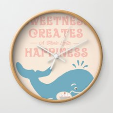 A Little Sweetness Wall Clock