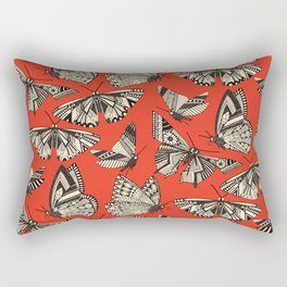 summer butterflies fire Rectangular Pillow