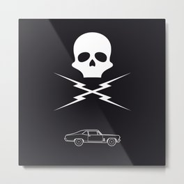 Stunt Mike Metal Print