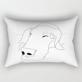 Great Dane Sketch Rectangular Pillow
