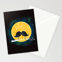 Moonstache Stationery Cards