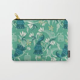 Aviary - Green Carry-All Pouch