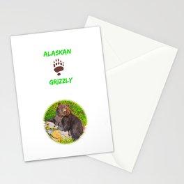 GRIZ  Pattern Stationery Cards
