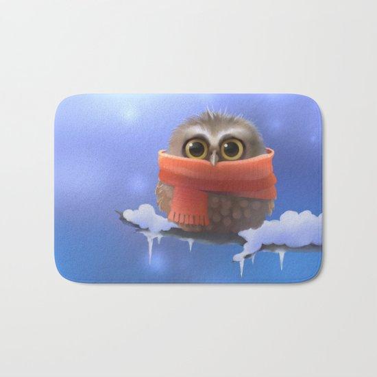 Little Owl Bath Mat
