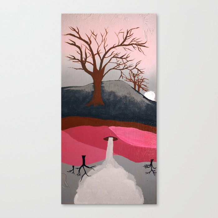 Abrupt Canvas Print
