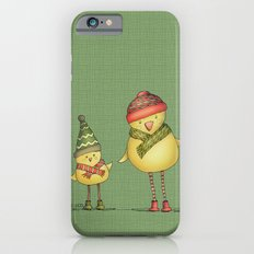 Two Chicks - green iPhone 6s Slim Case