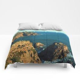 Cabo da Roca, Portugal Analog 6x6 Kodak Ektar 100 (RR 160) Comforters