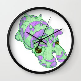 Flamboyant Cuttlefish VII Wall Clock