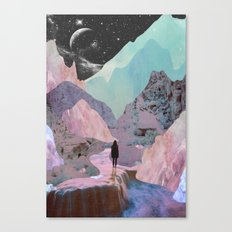 The Mountains of Lemuria Canvas Print