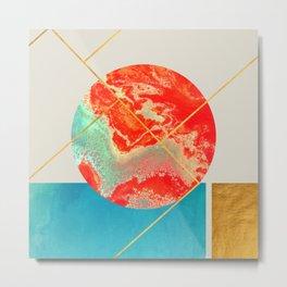 Earth & Sea #society6 #decor #buyart Metal Print