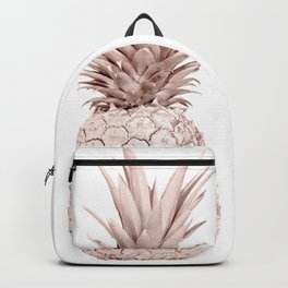 Pineapple Rose Gold Backpack