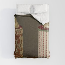 French OLD Confectionery Comforters