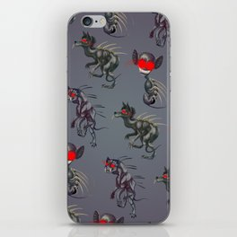 Chupacabra Chow iPhone Skin