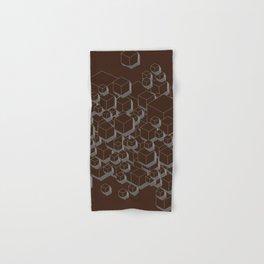 3D Futuristic Cubes VI Hand & Bath Towel