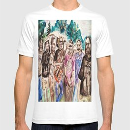 Dark Star Orchestra Grateful Dead Painting T-shirt