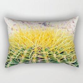 Golden Barrel Rectangular Pillow