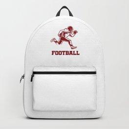 American Football Player American Football Team Gift Backpack