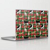hunting Laptop & iPad Skins featuring Hunting Tartan by Vannina