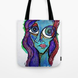 """Just another in my series of """"Blues."""" Tote Bag"""