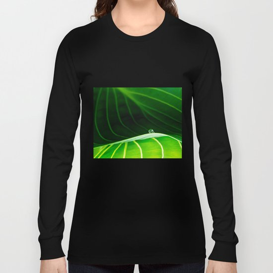in green Long Sleeve T-shirt