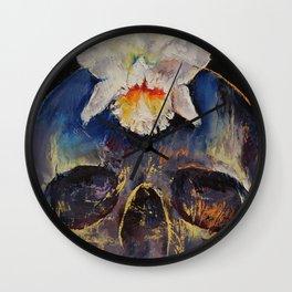 Voodoo Skull Wall Clock